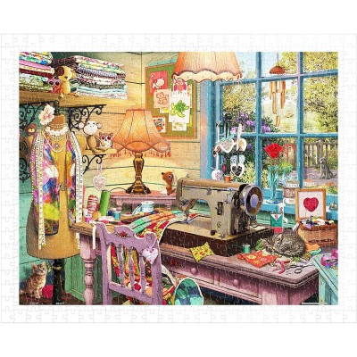 Pintoo-H1931 Puzzle en Plastique - Steve Read - Sewing Shed