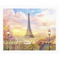 Pintoo-H1936 Puzzle en Plastique - Romantic Paris