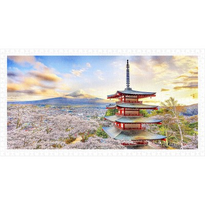 Pintoo-H2016 Puzzle en Plastique - Fuji Sengen Shrine, Japan