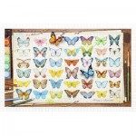 Pintoo-H2027 Puzzle en Plastique - Beautiful Butterflies