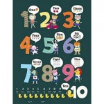 Pintoo-T1025 Puzzle en Plastique - Learning To Count