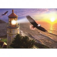 Puzzle  Art-Puzzle-4221 High Flight at the Sun Rise