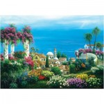 Puzzle  Art-Puzzle-4590 Seaside Town