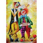 Puzzle  Art-Puzzle-5030 Clowns Musiciens