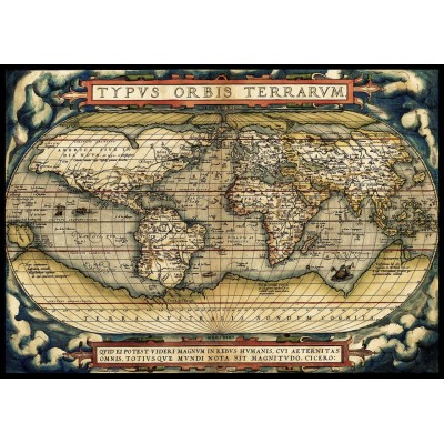 Puzzle Art-Puzzle-5521 The First Modern Atlas, 1570