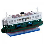 Brixies-58480 Nano Puzzle 3D - Ferry (Level 5)