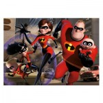 Puzzle  Dino-47217 Pièces XXL - The Incredibles 2