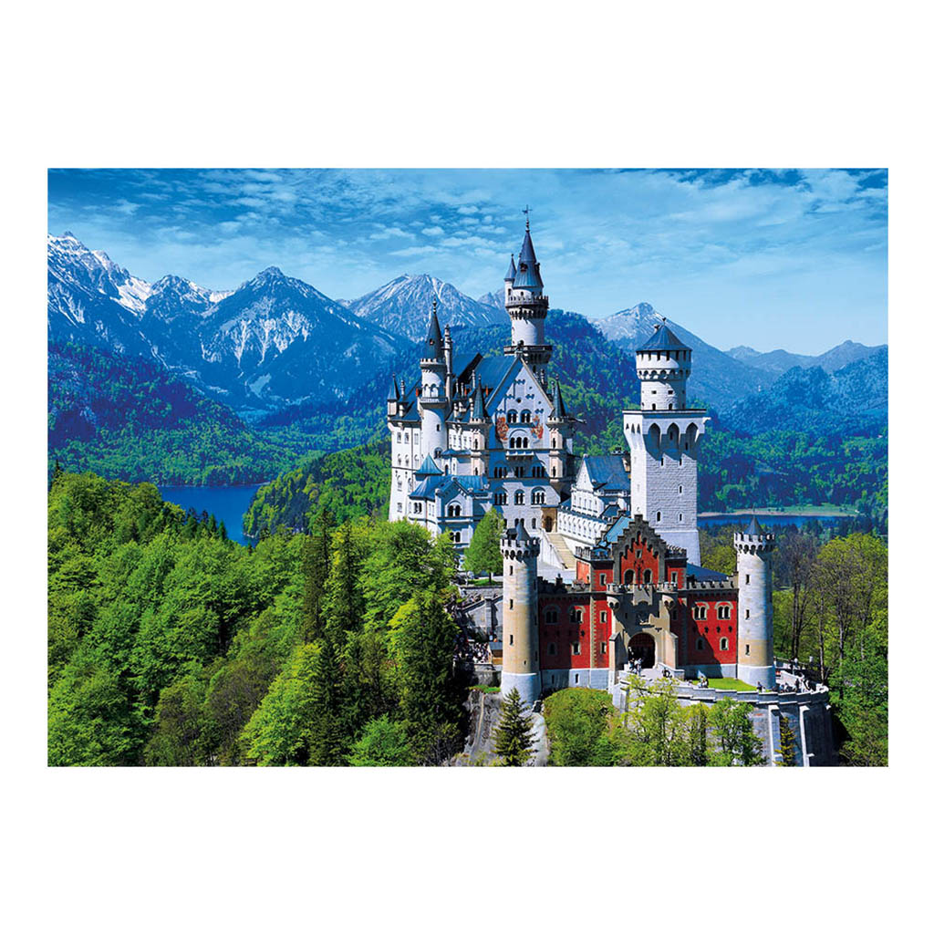 neuschwanstein allemagne 1000 teile dino puzzle. Black Bedroom Furniture Sets. Home Design Ideas