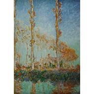 Puzzle  Grafika-00044 Claude Monet : Les Peupliers, 1891
