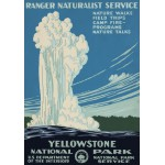 Puzzle  Grafika-00097 Affiche pour Le Parc National de Yellowstone, USA, 1938