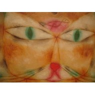Puzzle  Grafika-00115 Paul Klee : Chat et Oiseau, 1928