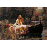 Puzzle  Grafika-00157 Waterhouse John William : The Lady of Shalott, 1888