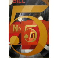 Puzzle  Grafika-00249 Charles Demuth : The Figure 5 in Gold, 1928