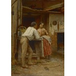 Puzzle  Grafika-00329 Jonathan Eastman Johnson : Southern Courtship, 1859