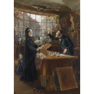 Puzzle  Grafika-00333 Ralph Hedley : The Old China Shop, 1877