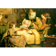 Puzzle  Grafika-00364 John Everett Millais : Ruling Passion, 1885