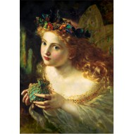 Puzzle  Grafika-00371 Sophie Gengembre Anderson : Take the Fair Face of Woman