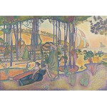 Puzzle  Grafika-00415 Henri-Edmond Cross : L'air du Soir, 1893