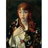 Puzzle  Grafika-00433 Robert Henri : Edna Smith in a Japanese Wrap, 1915