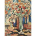 Puzzle  Grafika-00549 Leo Gestel : Still Life with Flowers in a Glass Vase, 1917