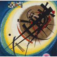 Puzzle  Grafika-00634 Wassily Kandinsky : In the Bright Oval, 1925