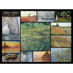 Puzzle  Grafika-00874 Claude Monet - Collage