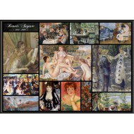 Puzzle  Grafika-00875 Auguste Renoir - Collage