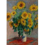 Puzzle  Grafika-00889 Claude Monet: Bouquet de Tournesols, 1881