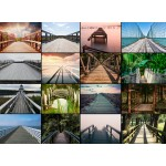 Puzzle  Grafika-01477 Collage - Ponts