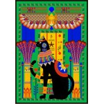 Puzzle  Grafika-01493 Chat Egyptien