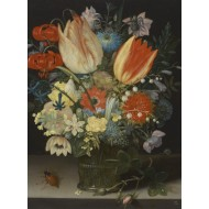 Puzzle  Grafika-01581 Peter Binoit: Nature Morte avec des Tulipes, 1623