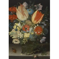 Puzzle  Grafika-01582 Peter Binoit: Nature Morte avec des Tulipes, 1623
