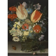 Puzzle  Grafika-01583 Peter Binoit: Nature Morte avec des Tulipes, 1623