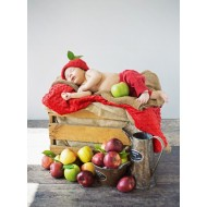 Puzzle  Grafika-01611 Konrad Bak: Baby and Apples