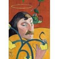 Puzzle  Grafika-01822 Paul Gauguin : Autoportrait, 1889