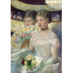 Puzzle  Grafika-01932 Mary Cassatt : The Loge, 1882
