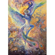 Puzzle  Grafika-02284 Josephine Wall - Blue Bird