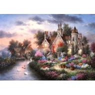 Puzzle  Grafika-02492 Dennis Lewan - Mill Creek Manor
