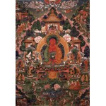 Puzzle  Grafika-02667 Buddha Amitabha in His Pure Land of Suvakti