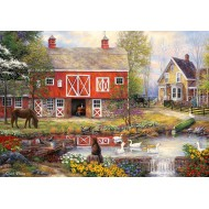 Puzzle  Grafika-02738 Chuck Pinson - Reflections On Country Living