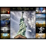 Puzzle  Grafika-T-00087 Collage - New York