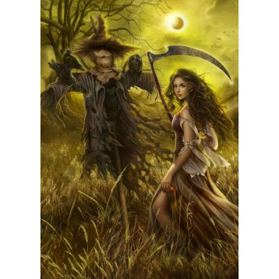 Puzzle Grafika-T-00160 Field of the Scarecrow