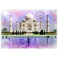 Puzzle  Grafika-T-00201 Travel around the World - Inde