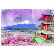 Puzzle  Grafika-T-00208 Travel around the World - Japon