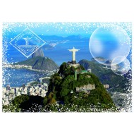 Puzzle  Grafika-T-00227 Travel around the World - Brésil