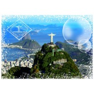 Puzzle  Grafika-T-00228 Travel around the World - Brésil