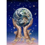Puzzle  Grafika-T-00300 Josephine Wall - Hands of Love