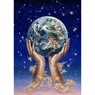 Puzzle Grafika-T-00301 Josephine Wall - Hands of Love