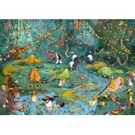 Puzzle  Grafika-T-00487 François Ruyer - Jungle