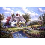 Puzzle  Grafika-T-00502 Dennis Lewan - Swan Creek Cottage